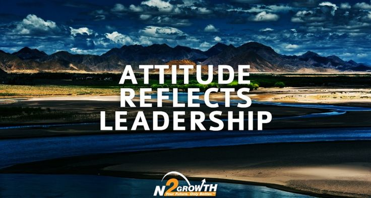 Attitude Reflects Leadership | N2Growth Blog