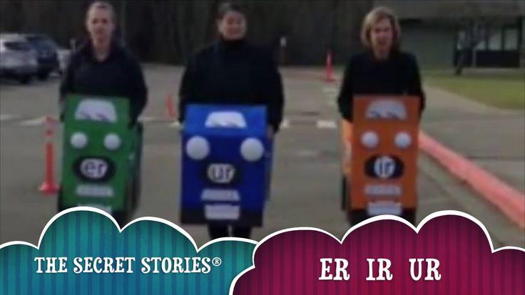 "Does YOUR class know the phonics ""Secrets?"" Learn them today and start sharing them tomorrow!! .......Secret Stories® ER, IR & UR......""Errrrrrrrrrrrr!!!"""