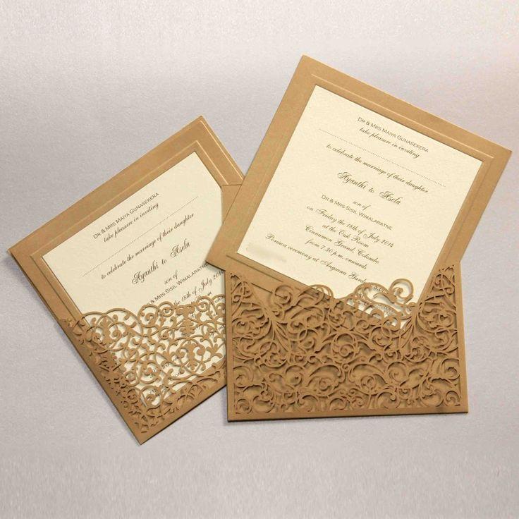 Invitations For A Sri Lankan Wedding Wedding Invitation Cards Wedding Invitation Card Design Wedding Invitations Online
