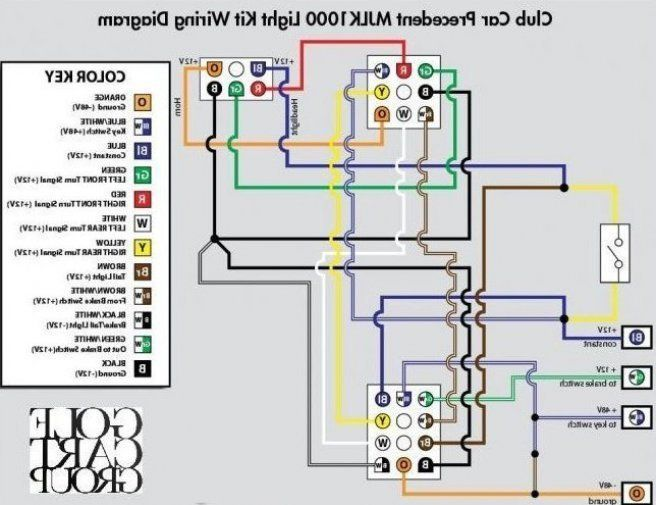 Beautiful Auto Electrical Wiring Diagram Club Car Precedent Mjlk1000 Light Kit Wiring Diagram With Key In 2020 Electrical Wiring Diagram Electrical Wiring Electricity
