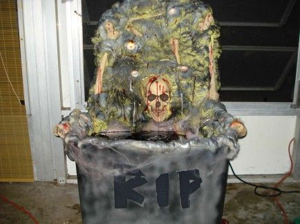 10 terrifying diy props for your haunted house - Homemade Halloween House Decorations