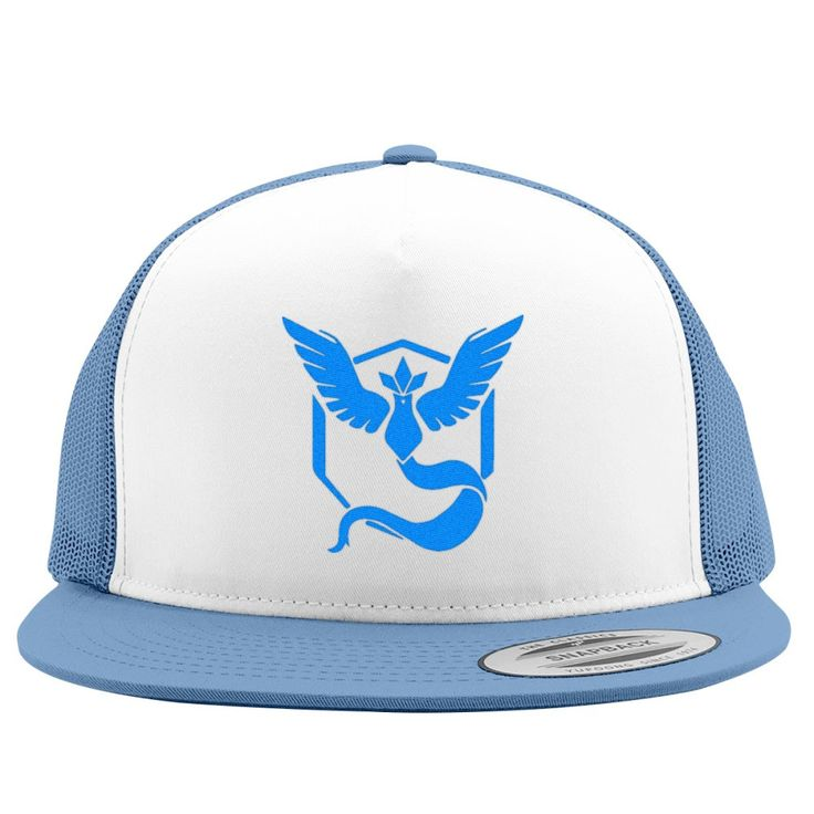 Team Mystic Embroidered Trucker Hat