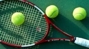 Image result for tennis court beside lake
