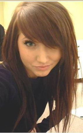 Best 25 side bang haircuts ideas on pinterest side fringe side long hairstyle with side bangs see more love her hair wish my hair would hurry up and growwww urmus Gallery