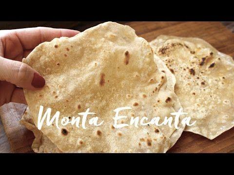 Pão Chapati, pão indiano sem fermentação – Monta Encanta