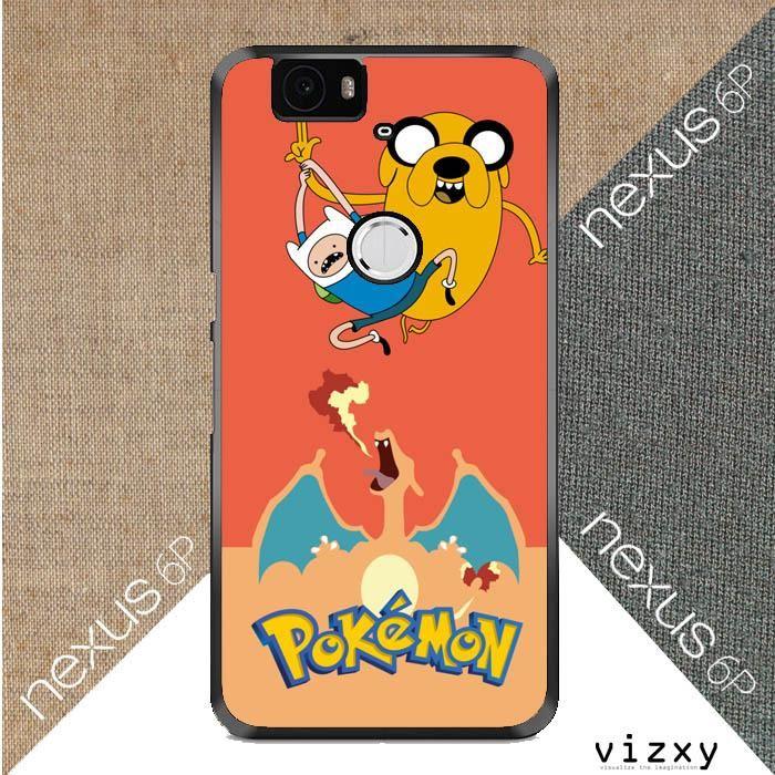Adventure Time Jake POKEMON W3008 Huawei Google Nexus 6P Case