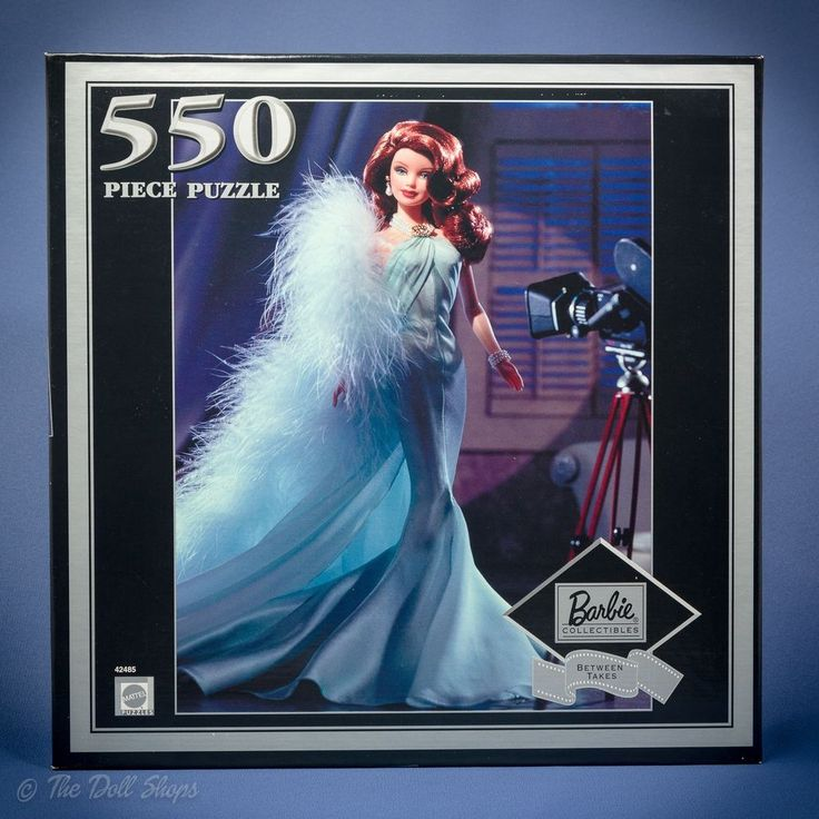 Barbie Collectibles Movie Star Between Takes Jig Saw Puzzle 2000 New Sealed NRFB #Mattel