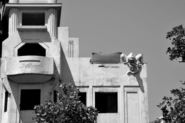 El edificio de la gárgola
