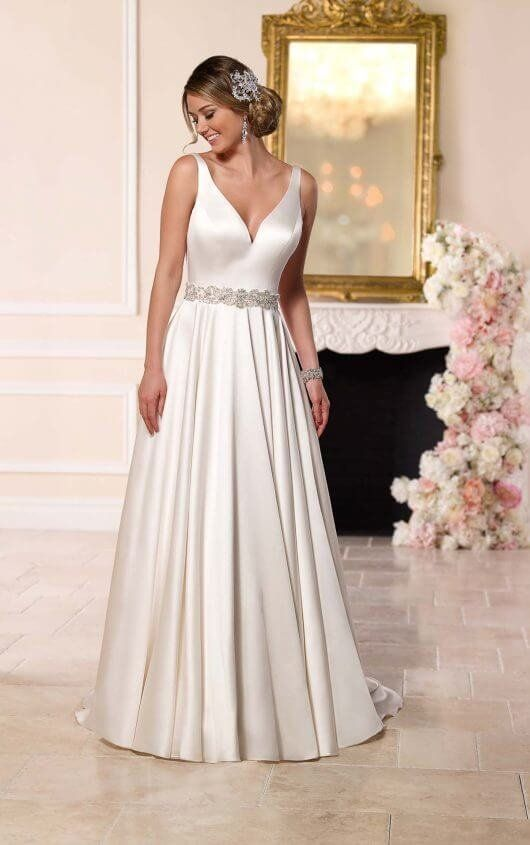 Best Modern And Minimal Wedding Dresses Images On Pinterest