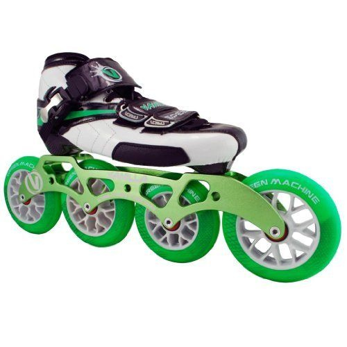 Vanilla Green Machine Inline Skates - Green Machine Inline Speed Skate by Vanilla. $279.00. Vanilla Green Machine Inline Skates - Green Machine Inline Speed Skate - Check out the brand new inline speed skates from Vanilla Skates - the Vanilla Green Machine! The Vanilla Green Machine speed inline skates are perfect for everyone who loves inline skates from the casual recreational skater to the inline speed racing skater. The Vanilla Green Machine inline skates feature a full carb...
