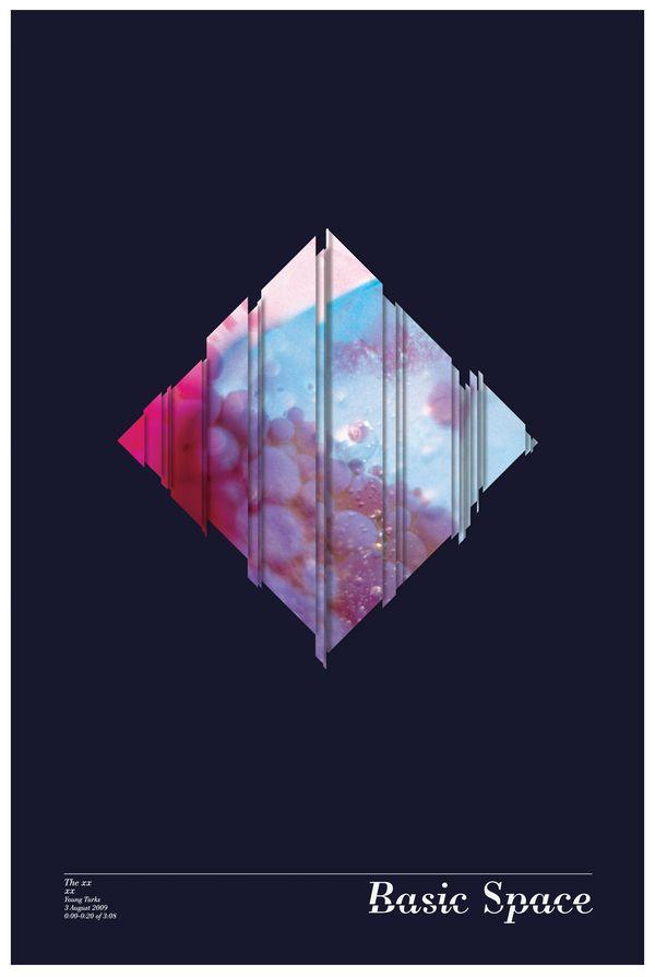 Scenes in Waveforms by Angelica Baini, via Behance