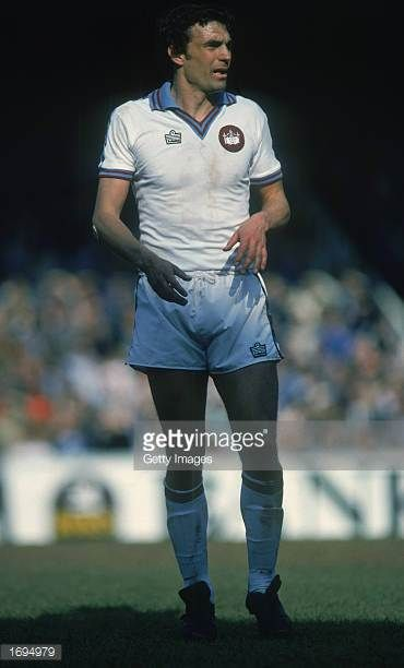 Trevor Brooking of West Ham United in action during the FA Cup SemiFinal match between Everton and West Ham United held on April 12 1980 at Villa...