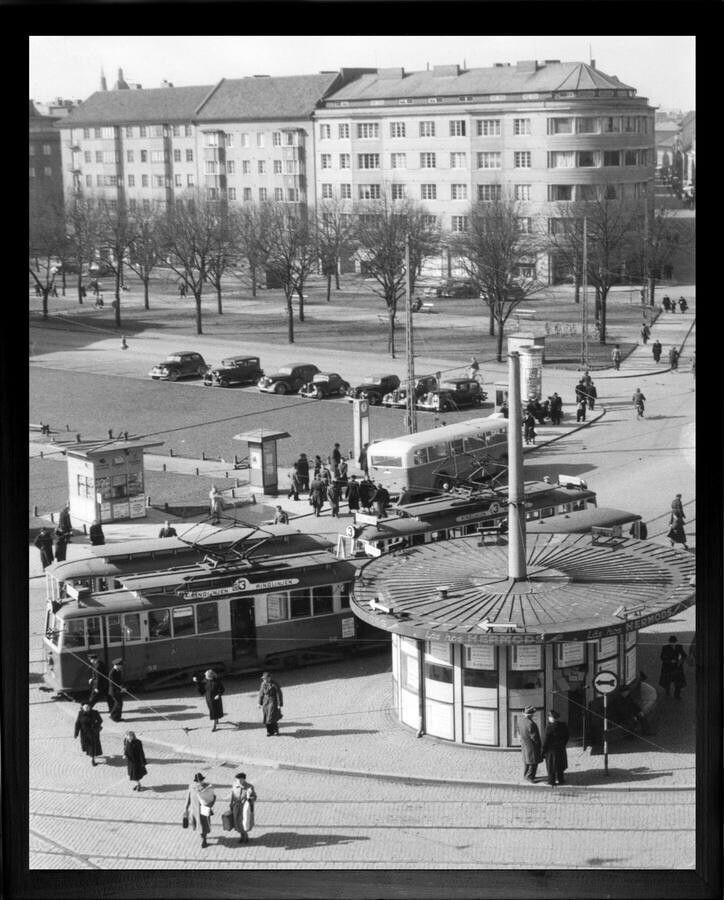 Värnhemstorget på 60-talet.