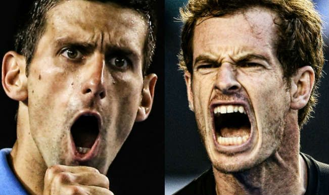 Novak Djokovic vs Andy Murray Part 2: 2015 French Open Roland Garros - http://movietvtechgeeks.com/novak-djokovic-vs-andy-murray-part-2/-Only a threatening thunder storm could stop powerhouse Novak Djokovic from blasting his way into the 2015 French Open finals, but in his match against Andy Murray, that's what happened.