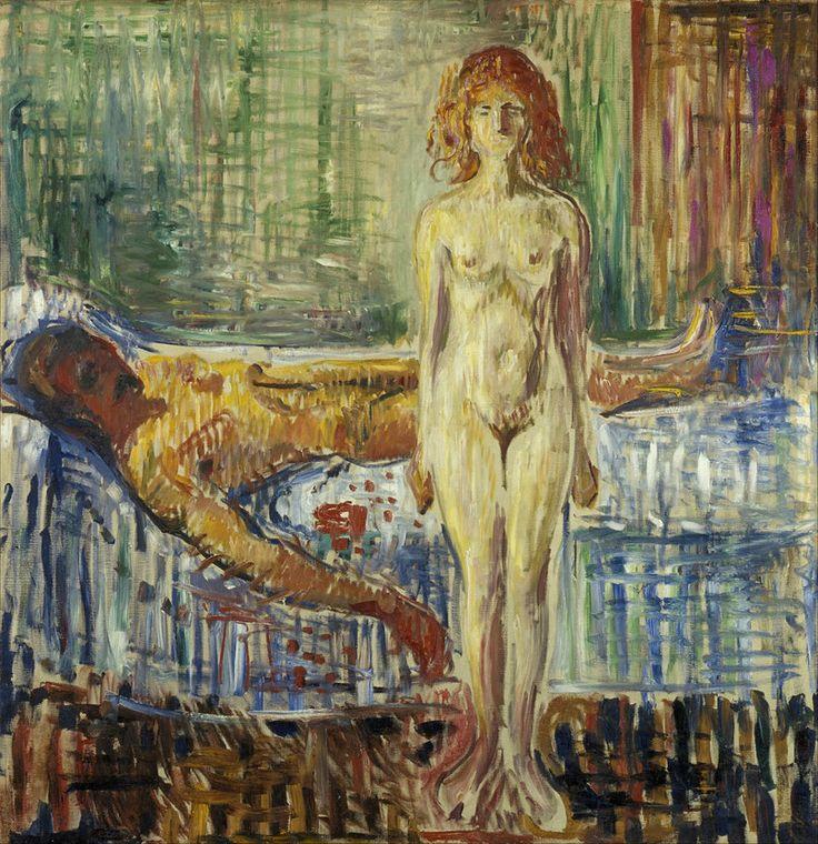Edvard Munch - Der Tod des Marat II