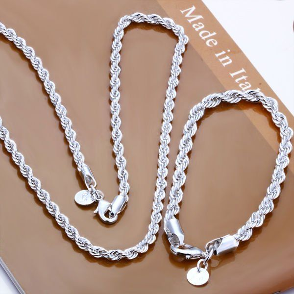 Cheap jewelry women, Buy Quality jewelry crystal directly from China jewelry 925 Suppliers: 	Description:			925 sterling silver jewelry set				 1. one piece necklace+1 piece bracelets				  2.&