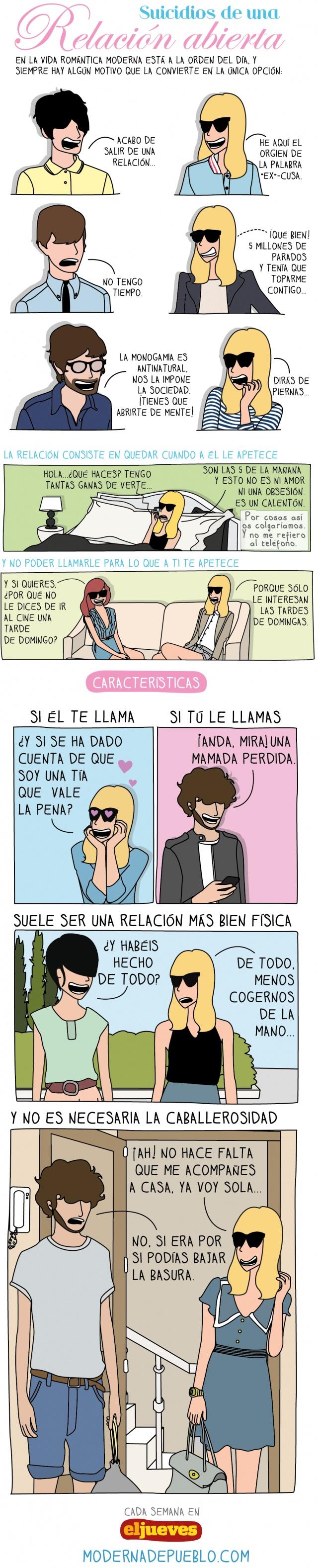 Relación abierta...by Moderna de pueblo