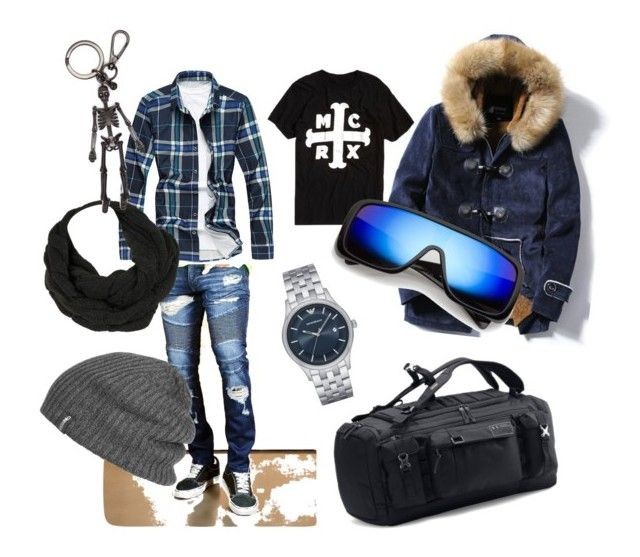"""""""Untitled #18"""" by m-elizarjeva on Polyvore featuring 21 Men, Emporio Armani, Under Armour, Outdoor Research, Alexander McQueen, men's fashion and menswear"""