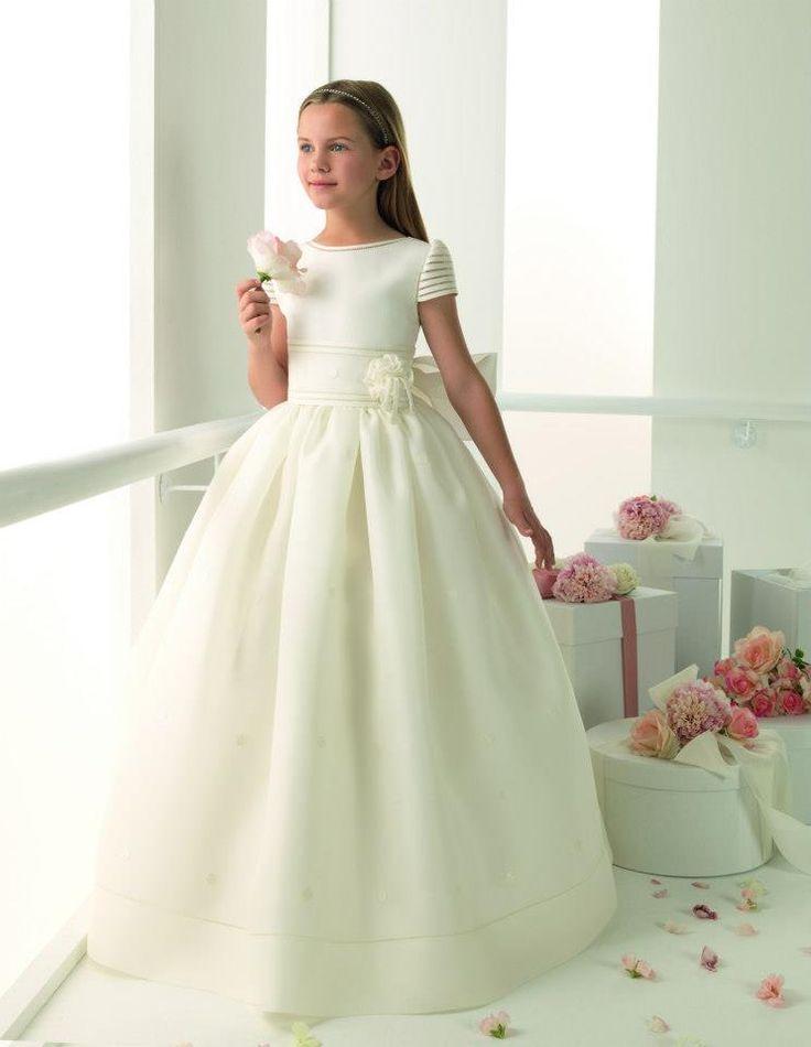 hermoso vestido primera-comunión