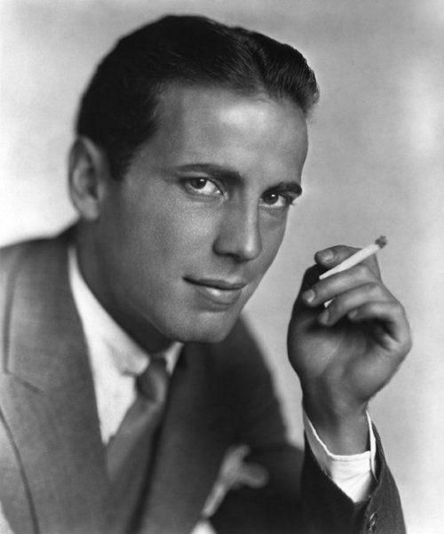 """""""I came out here with one suit and everybody said I looked like a bum. Twenty years later Marlon Brando came out with only a sweatshirt and the town drooled over him. That shows how much Hollywood has progressed.""""    -Humphrey Bogart (1928)"""