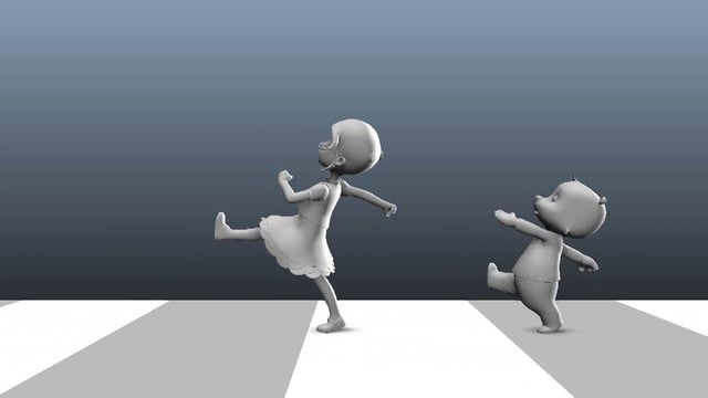 This is a playblast of an animation I made one year ago, for BrownBag Films via GFactory : http://www.the-gfactory.com/ I did the skinning and animation. Goldie modeling and texturing by the GFactory