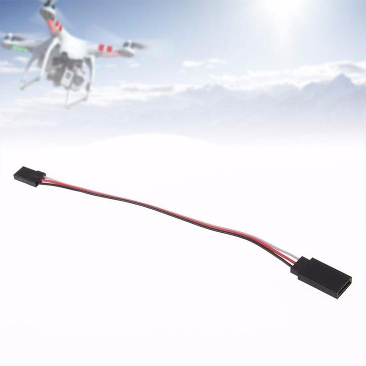 """NEW 150mm 6"""" RC servo extension cord lead Wire Cable for Receiver Connection"""