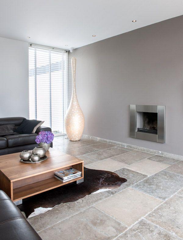 Natuursteen vloer Bourgondische dallen Dordogne - Kersbergen natuursteen - vloeren ideeën | UW-vloer.nl