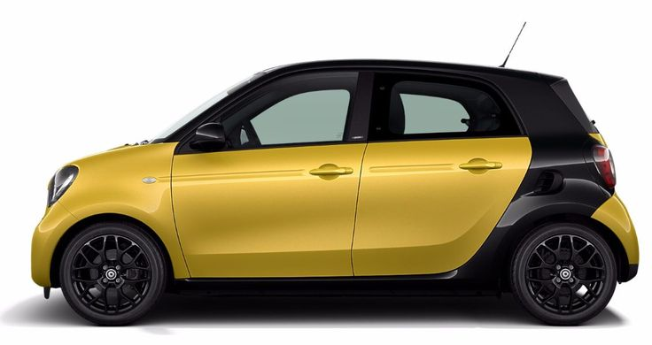 2017  2017 smart forfour Feels Big. Drives Sma