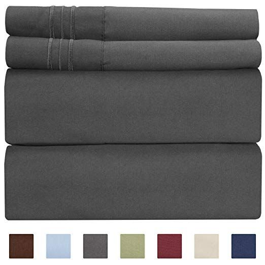 Amazon Com Queen Size Sheet Set 4 Piece Hotel Luxury Bed