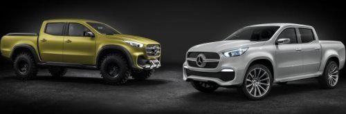 Gallerij: Bericht Mercedes X-klasse Concept