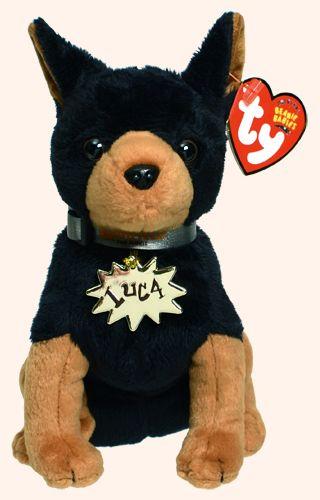Luca - dog - Ty Beanie Babies