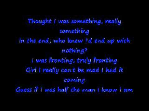 Anthony Hamilton-Pray for me....This song is the Truth <3