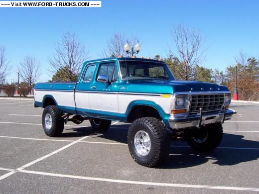 1979 Ford F250 4x4 - 79 F250 Supercab | Sweet Classic 70's Ford Trucks | Pinterest | Ford, Ford