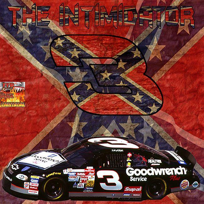 dale earnhardt confedertate flag full wallpaper black lightning