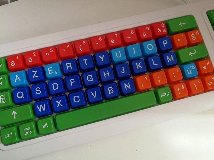 [On découvre] Un clavier ergonomique clevy pour les enfants de 3 à 8 ans ou en situations de handicaps - Maman pouponne papa bricole @MPouponne