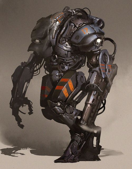 cyberclays:  sketch robot - by Petr Morozoff