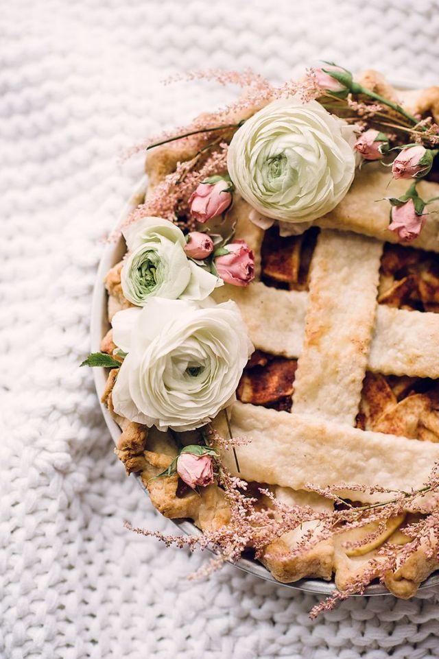 Bruids APPEL taart