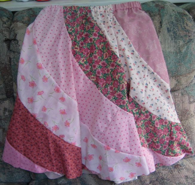 Janel Was Here: Free Printable Pattern for Spiral Skirts