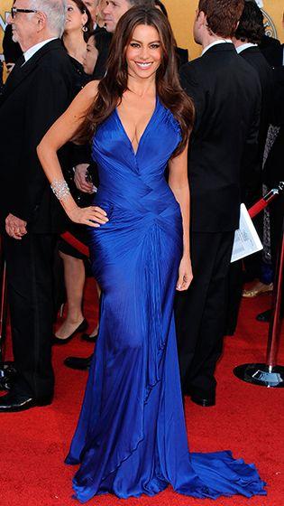 Sofia Vergara in Roberto Cavalli dress. <3