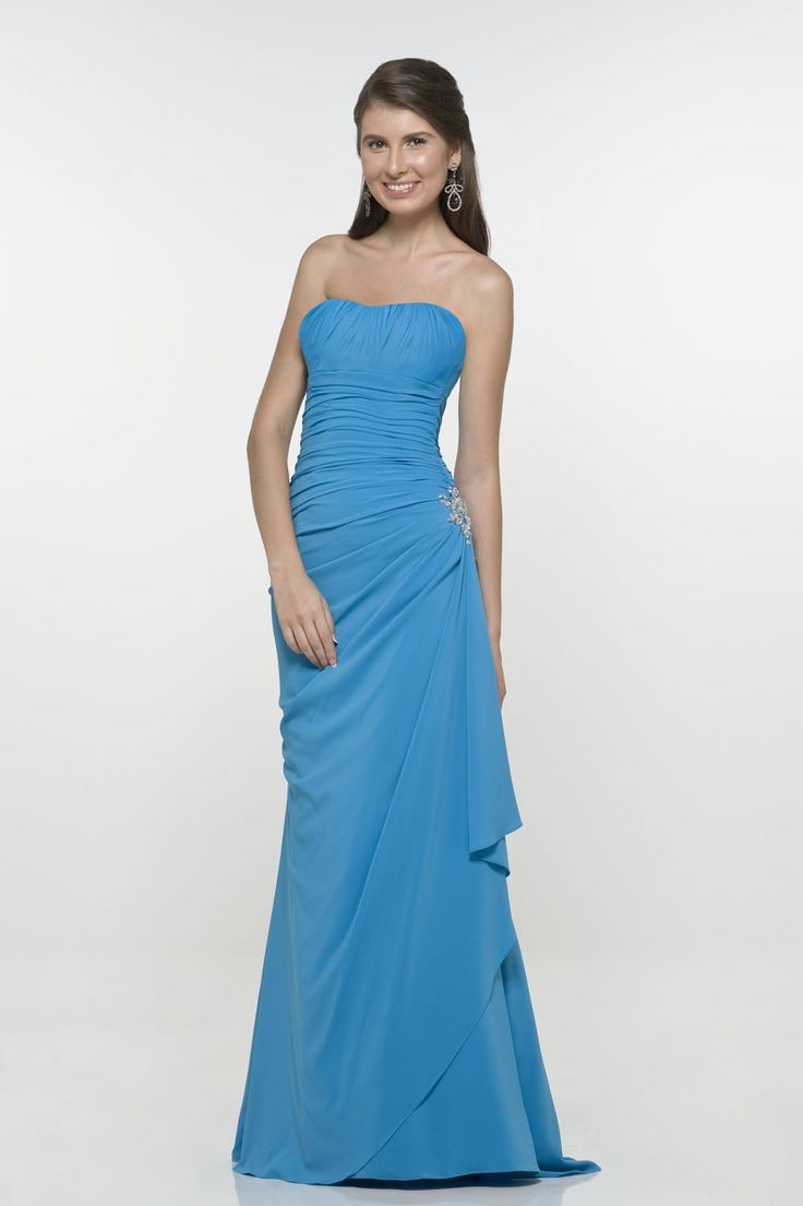 2012 Charming sapphire Side-Draped strapless sweetheart sweep-length beads working evening dress  Now: $148.89: Body Flatts Bridesmaid, Evening Dresses, Bridesmaid Dresses, Appliques Backless, Chiffon Bridesmaid, Beads Work, Bridesmaid Gowns, Ruffles Appliques, Beads Chiffon