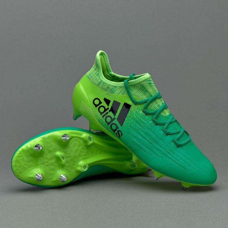adidas X 16.1 SG - Solar Green/Core Black/Core Green