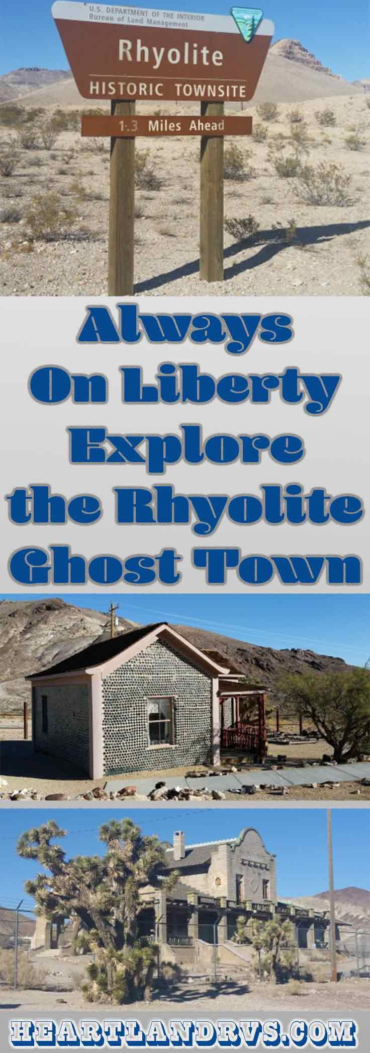 We were eager to see and learn about the Rhyolite ruins of the once lucrative and thriving mining town near Montgomery Shoshone Mine. | Heartland RVs Blog