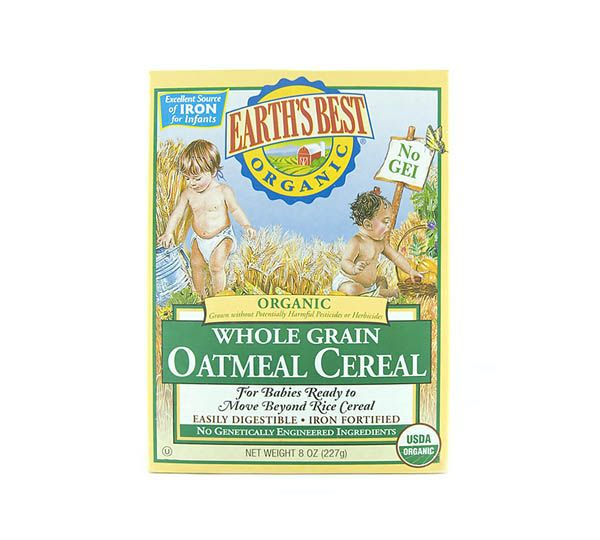 Whole Grain Oatmeal, Baby Cereal