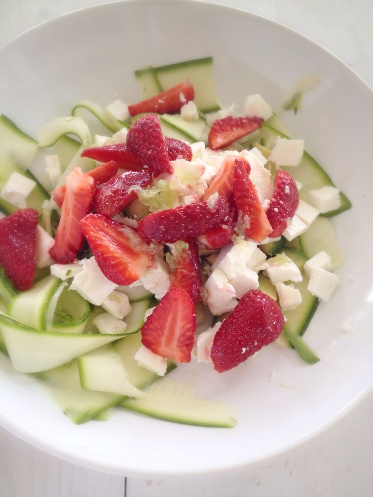 Spring salad of 5 ingredients