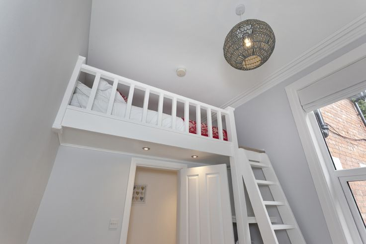 Your mezzanine double bed will take you to new heights.. Literally!