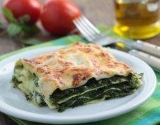 Healthy Spinach Lasagna