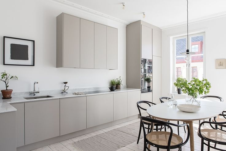 Light Scandinavian kitchen