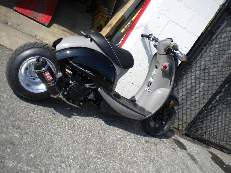 Stretched Honda Metropolitan 50cc