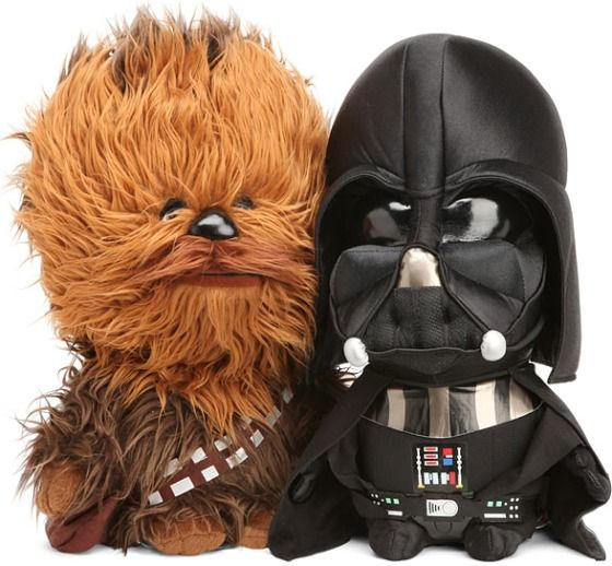 Star Wars Plush Dolls – Now with Sound...haha I am SO getting these for my niece/nephew next year!!!