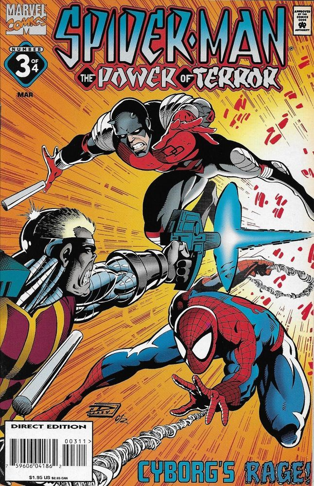 Marvel Spider-Man The Power of Terror comic issue 3 | Spider